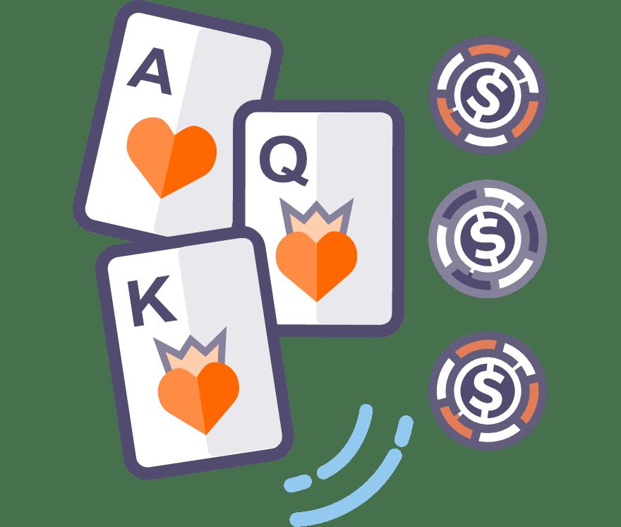 Los 57 mejores sitios de Casino de Póker de tres cartas en línea en México