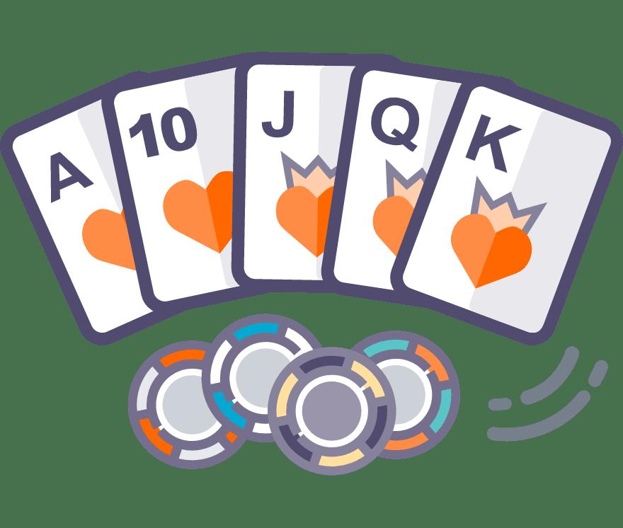 Los 44 mejores sitios de Casino de Texas Holdem en línea en México